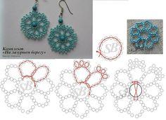 Beaded Earrings                                                                                                                                                                                 Mais