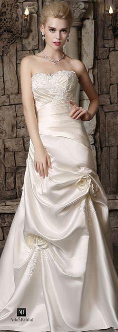 vestido de novia de corte imperio