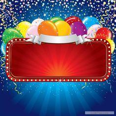Free Shininy birthday background creative vector  vector download