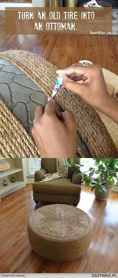 Check out these creative recycling ideas for home decoration. We moved beside you to provide the DIY ideas & various other creative recycling projects. Diy Projects To Try, Home Projects, Home Crafts, Fun Crafts, Diy Home Decor, Diy And Crafts, Craft Projects, Arts And Crafts, Furniture Projects