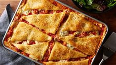 Sheet-Pan Lasagna