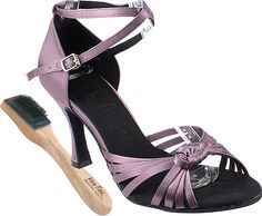 Very Fine Womens Salsa Ballroom Tango Dance Shoes Braided Style Sera 3780 Bundle with Dance Shoe Wire brush Lavender Satin 9 M US Heel 25 Inch -- To view further for this item, visit the image link. (This is an affiliate link) Salsa Shoes, Tango Dance, Wire Brushes, Dance Outfits, Braid Styles, Beautiful Shoes, Serum, Lavender, Braids