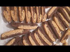 Τα πιο εύκολα νηστίσιμα παξιμαδάκια με κακάο!! - YouTube Baking Business, Sausage, Cookies, Vegan, Breakfast, Desserts, Leo, Google, Youtube