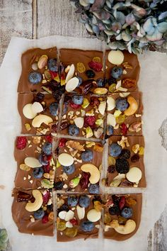 Leftover Home Made Fruit and Nut Bark