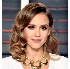 Oscar Party 2016: Best Hairstyles - Jessica Alba