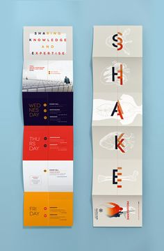 ShaKE event : poster + programme on Behance