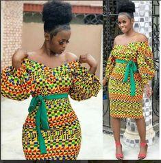 Items similar to African Clothing/ Ankara Dress/ African Print/ Ankara Print on Etsy African Fashion Designers, African Inspired Fashion, African Print Fashion, Africa Fashion, Modern African Fashion, Tribal Fashion, African Print Dresses, African Fashion Dresses, African Dress