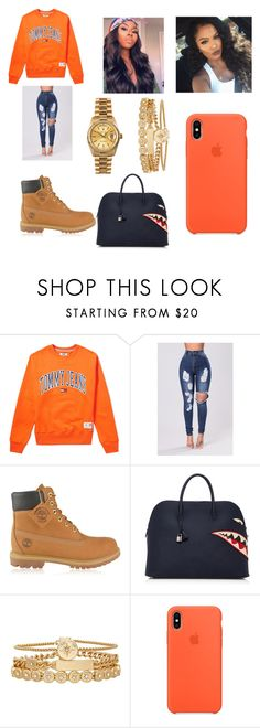 """""""Untitled #435"""" by askariwilson on Polyvore featuring Tommy Hilfiger, Timberland, Hermès, Rolex and Treasure & Bond"""