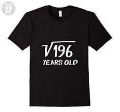11ef1d4151d Amazon.com: Men's Square Root of 196 - 14th birthday 14 Year Old T-Shirt  3XL Royal Blue: Clothing. Funny Halloween ...