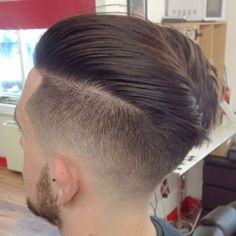 Undercut with Textured Top and Beard