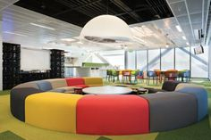 Lunch Room at One Shelley Street, Sydney, NSW Designed by Woods Bagot Pty Ltd