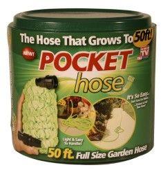 The pocket hose