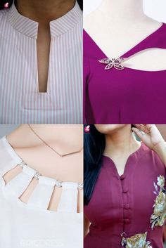 Chudi Neck Designs, Neck Designs For Suits, Sleeves Designs For Dresses, Neckline Designs, Dress Neck Designs, Salwar Suit Neck Designs, Saree Blouse Neck Designs, Kurta Neck Design, Stylish Kurtis Design