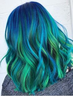42 Multidimensional Blue Hair Color Ideas in 2018