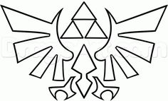 How to Draw the Triforce, Step by Step, Video Game Characters, Pop Culture, FREE Online Drawing Tutorial, Added by Dawn, August 3, 2013, 1:0...