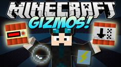 cool Watch Minecraft | GIZMOS! (Useful Gadgets & MOAR TNT!) | Mod Showcase