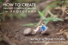 How to create fantasy composite images in Photoshop | MCP Actions tutorial