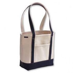 Lands' End Canvas Tote - fill with gardening or bbq stuff