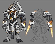Heroes Of The Storm - Character Art - Animation