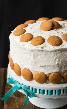 Banana Pudding Cake. I incorporate the bananas into the cake mix. Huge hit with everyone!