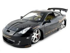 Special Offers Available Click Image Above: Toyota Celica Gts Diecast Car 1/18 Black Die Cast Car Model By Jada