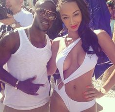 Draya Michele, Kevin Hart, And Some Lovely Ladies Seen Kini'ed And Shirtless At Las Vegas Pool Party