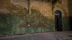 Detalhe das ruínas do Sanatório Beelitz-Heilstätten, em Berlim. Fotos: True British Metal/Flickr/Divulgação