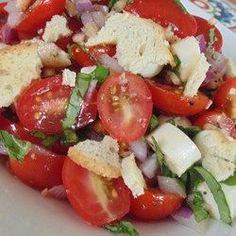 nice Bruschetta Salad