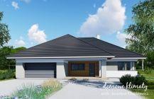 Projekt domu Kaprys V NF40 Kerala House Design, Kerala Houses, Exterior Design, House Plans, Sweet Home, Garage Doors, Shed, Outdoor Structures, How To Plan
