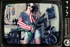 Guitar Girl Magazine » Style Guide: July Fourth Fashion
