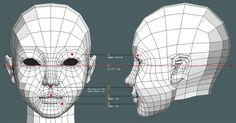 base topology with no subdivisions Blender Character Modeling, Character Model Sheet, Character Art, Wireframe, Blender 3d, 3d Face Model, 3d Modellierung, Face Topology, Maya Modeling