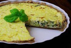 Francúzsky quiche (kiš) so slaninkou a pórom Quiche, Pizza, Bread, Breakfast, Food, Meal, Brot, Eten, Quiches