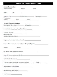 A vehicle incident report template is usually filled by a