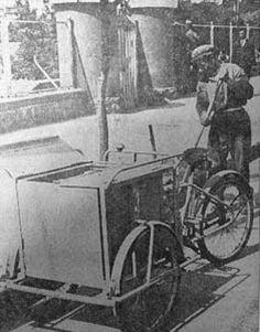 Bisikletli Çöpçüler Eski Ankara Fotoğrafları 1