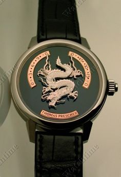 Thomas Prescher Tempusvivendi Tempus Vivendi »Dragon« Dragon Automatic TV 1