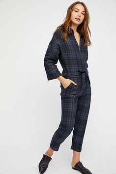 Slide View 1: Piper Plaid One-Piece