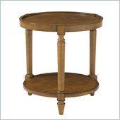 Lexington Twilight Bay Phoebe Lamp Table in Chestnut - 01-0350-950