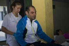 Rehabilitación en el hospital nacional de parapléjicos.