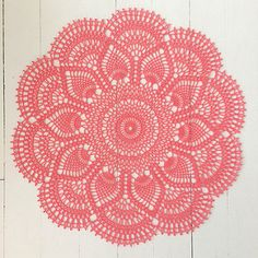 Published in Doilies, Doilies, Doilies, Star Doily Book No. 87, by American Thread Company in 1951.