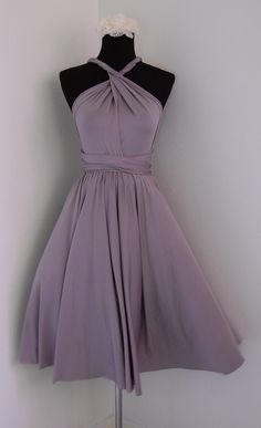 Multiway Convertible Dress Bridesmaids Dress by SequinsandTulles, $45.00 #bridesmaid dresses