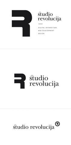 Studio Revolucija identity