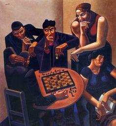 William Roberts - Joueurs d'échecs