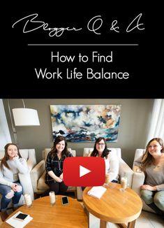 Work life balance is