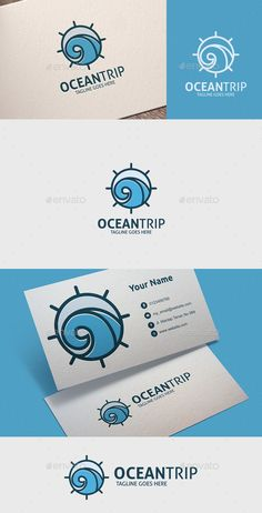Ocean Trip  — EPS Template #inspiration #ship #vacation • Download ➝ https://graphicriver.net/item/ocean-trip/18700036?ref=pxcr