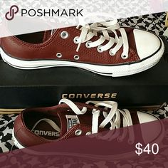Low Top converse very nice in new condition Burgundy low Top converse Only worn once Converse Shoes Sneakers Converse Burgundy, Converse Shoes, Shoes Sneakers, Chuck Taylor Sneakers, Fashion Tips, Fashion Design, Fashion Trends, Nice, Outfits