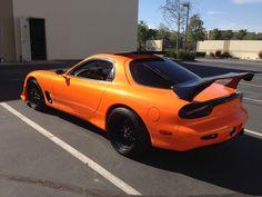 Mazda RX7 FD3S Orange Pearlaccent