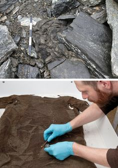 The discovery of the kyrtel in 2011 was just such a stroke of luck. Made of lamb's wool and big enough to fit someone about five foot nine, the garment is 1,700 years old.  Norway icemelt.