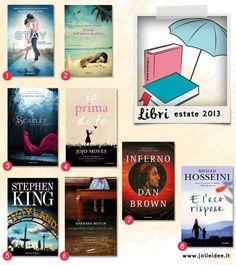 Libri Estate 2013 - Le novità da leggere sotto l'ombrellone #book