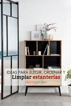 ¡Te damos unas cuantas ideas para elegir la mejor estantería de JKmuebles! Toma nota, ¡este artículo te interesa! Además, con el código HOGARMANIA5 tienes un descuentazo del 5%. Shelving, Ideas, Home Decor, Decorative Accents, Decorate Bookcase, Furniture, Hangout Room, Wooden Plaques, Design Styles
