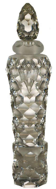 Crystal Perfume Bottle. Perfect with your unique wedding fragrance. www.weddingscentsperfumes.co.uk